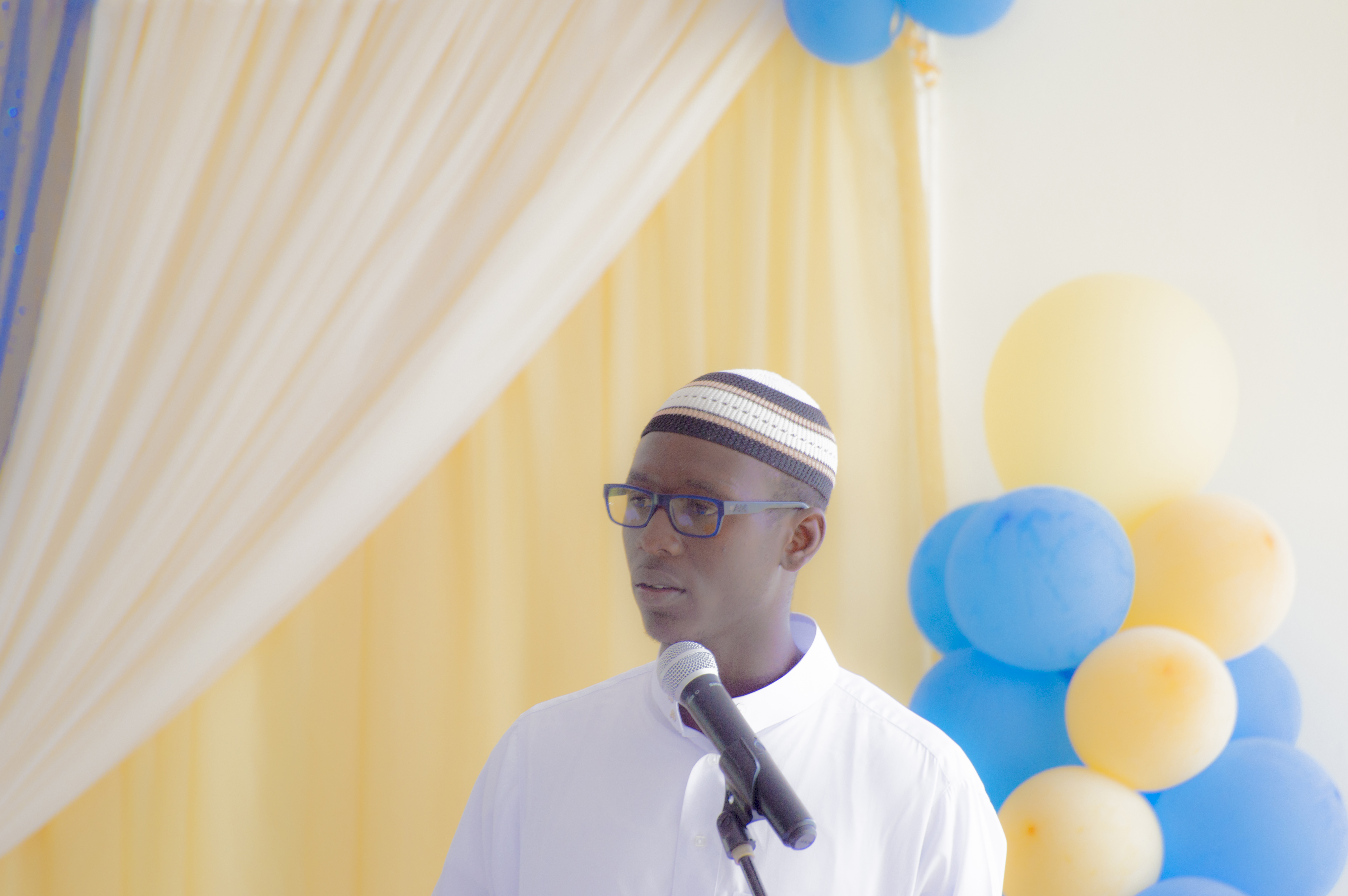 Student Remarks by Br. Yusuf Warrick