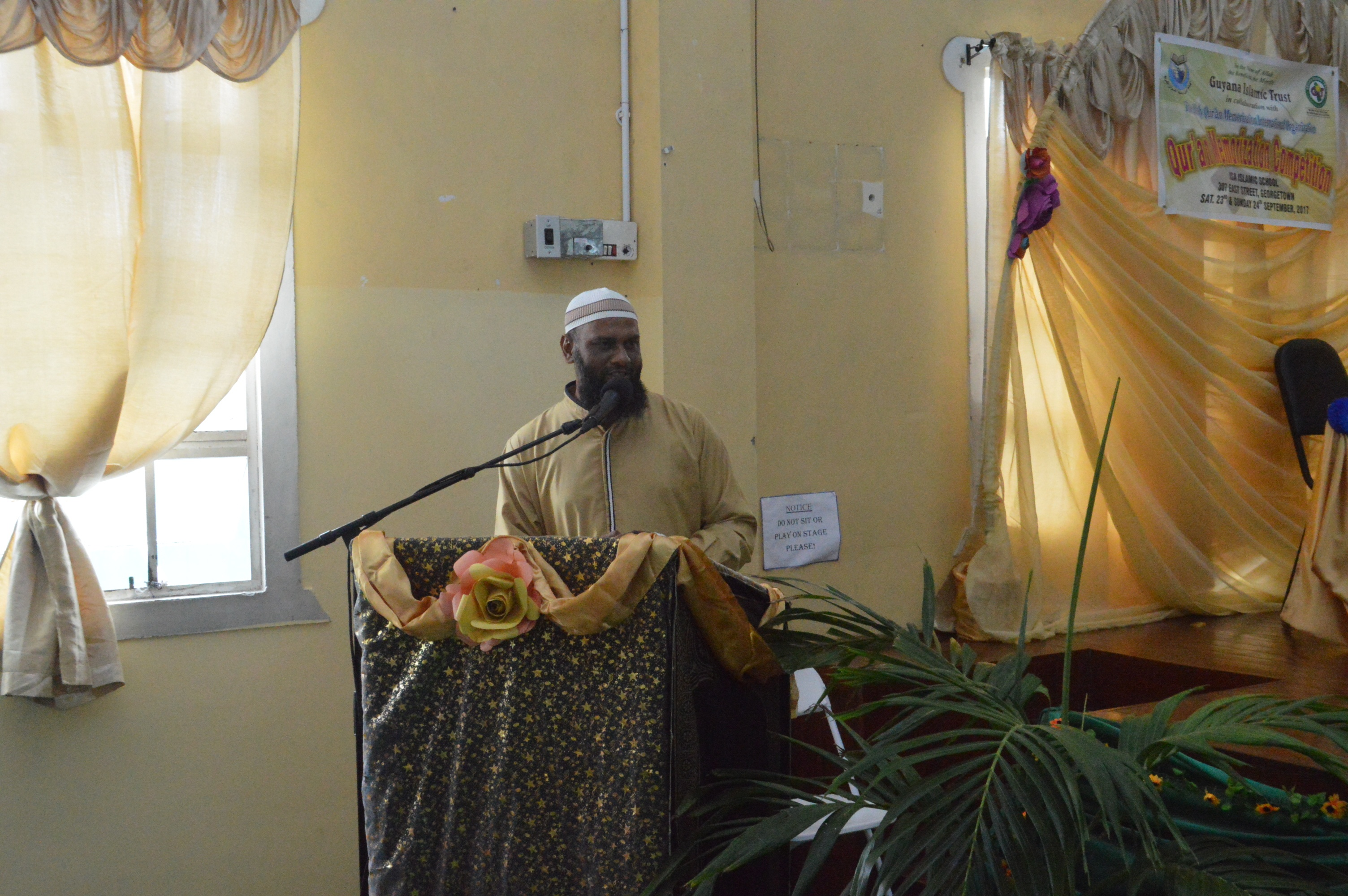Br. Nezam Zaman- Chairperson of the proceedings