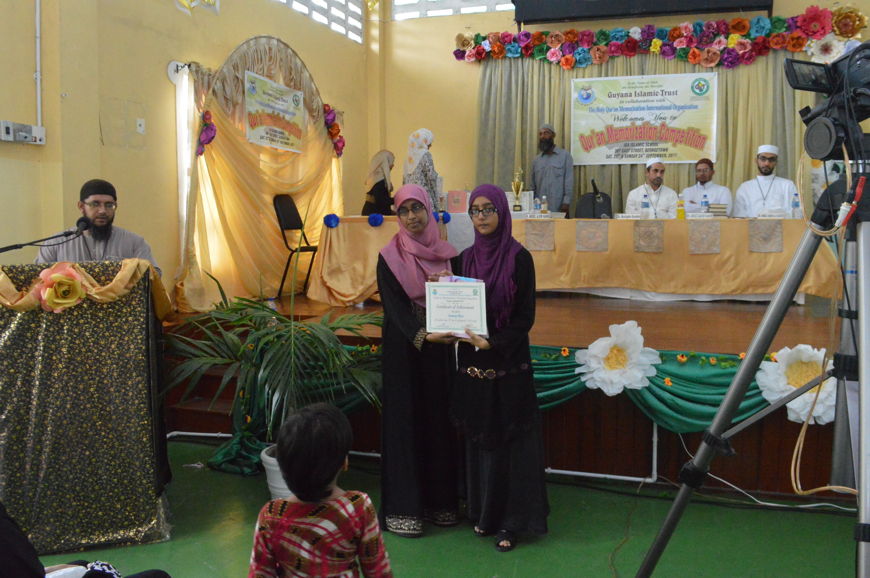 Presentation of Certificates & Prizes