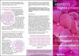 WOMENS' RIGHTS IN ISLAM